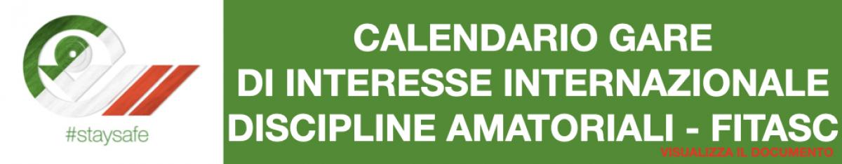 Calendario FITASC